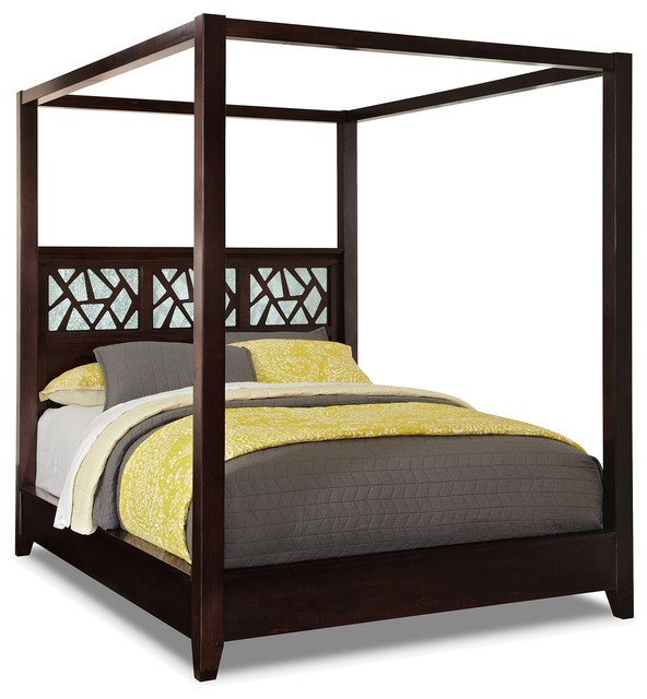 Espirit Queen Canopy Bed