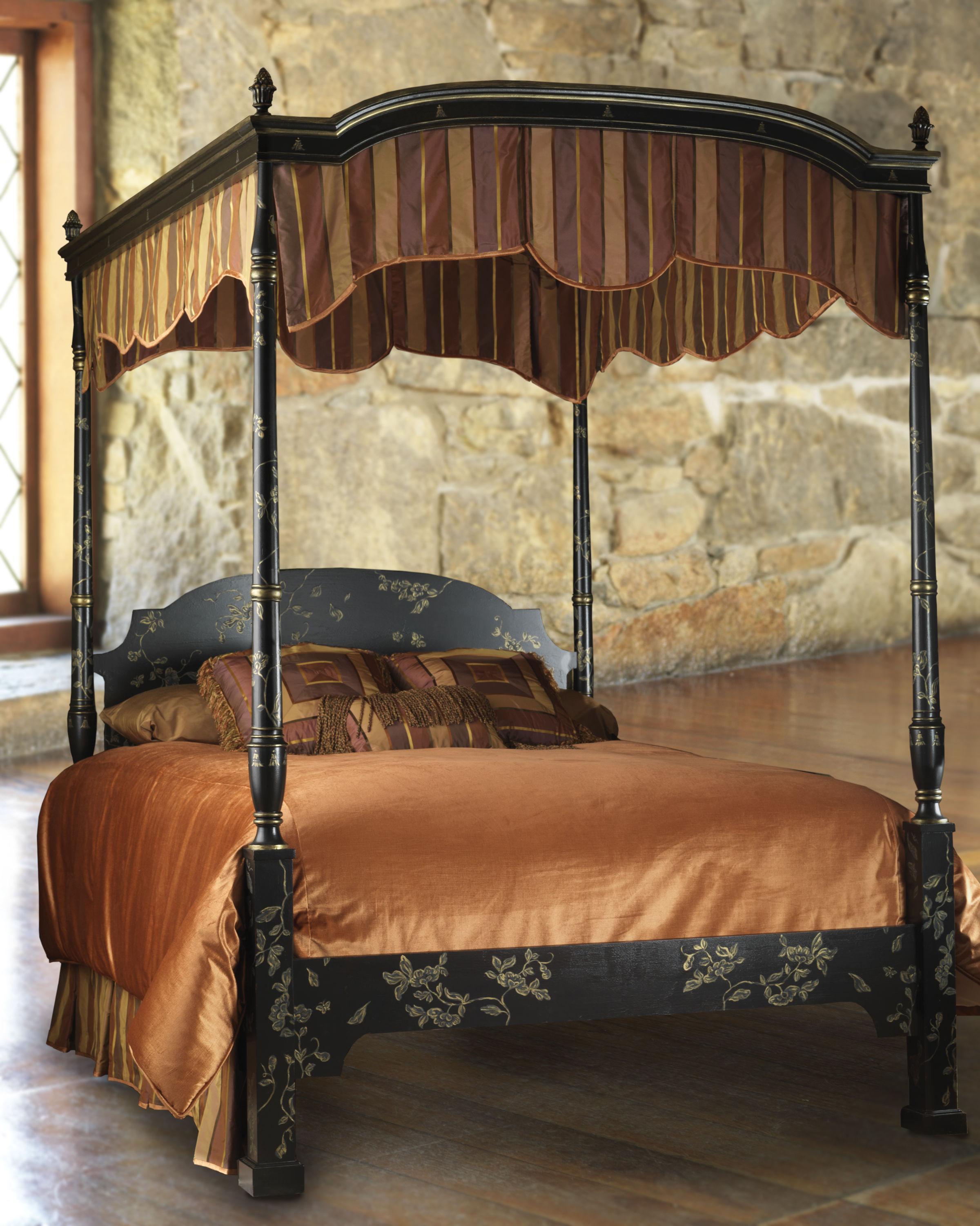 Elegant and stylish bedroom furniture for all season - Elegant canopy bedroom sets ...